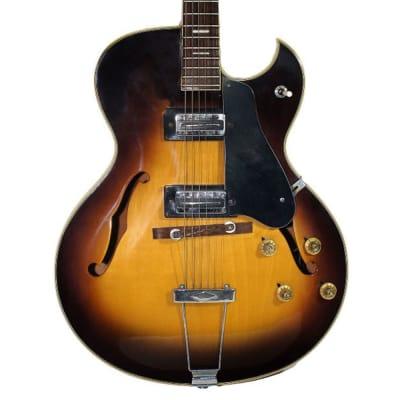 Firstman jazz electric guitar 1960-1970 Sunburst for sale