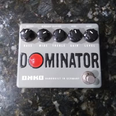 OKKO Dominator, High Gain, Distortion Pedal - Very Rare, Gray Box