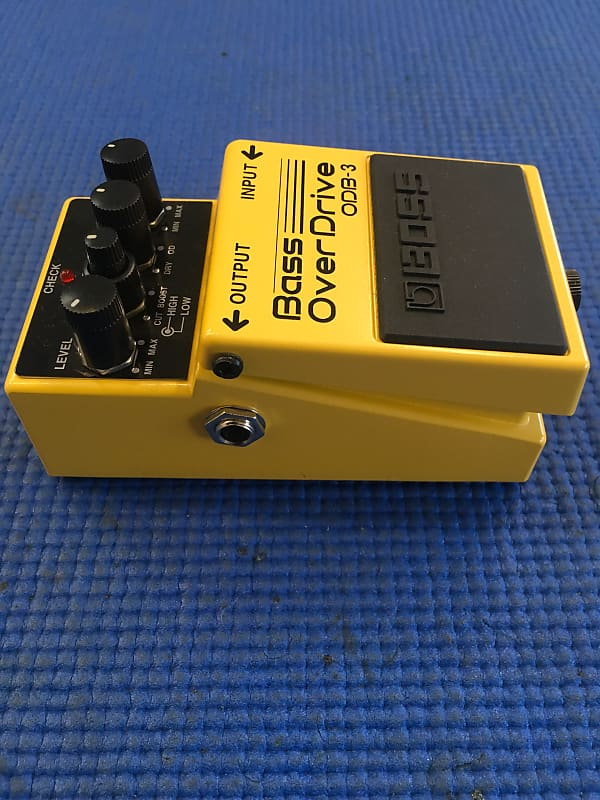 boss bass overdrive odb 3 yellow sound exchange music reverb. Black Bedroom Furniture Sets. Home Design Ideas