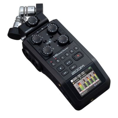 Zoom H6 All Black Handy Recorder
