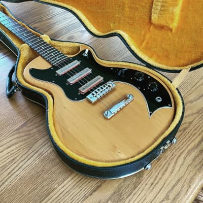 1976 GIBSON S-1 Natural SINGLE COILS Electric Guitar & Case for sale