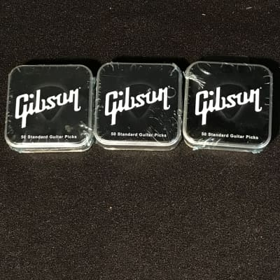 *BUNDLE OF 150* Gibson Heavy Pick Tin - 50 picks for sale