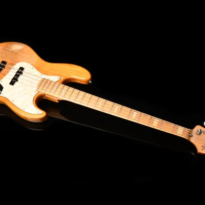 Fender '75  Jazz Bass 75-80 with Maple Fretboard 1984-1987 3 Color Natural | E serial for sale