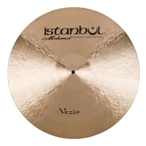 """Istanbul Mehmet 20"""" Vezir Flat Ride Cymbal with Rivets"""