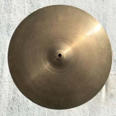 """A. Zildjian 17"""" Hollow Logo Thin Crash Cymbal 1978 - 1982"""