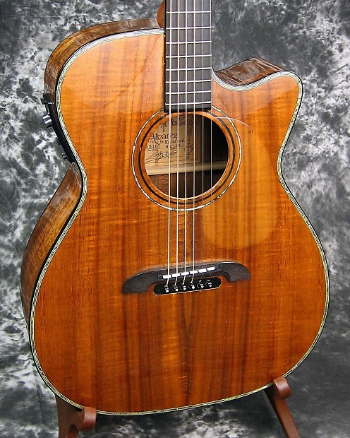 exc used alvarez yairi wy1k acoustic electric guitar w hc reverb. Black Bedroom Furniture Sets. Home Design Ideas