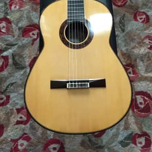2007 Paul Fischer spruce/brazilian concert guitar for sale