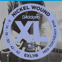 D'Addario EXL116 Nickel Wound Electric Guitar Strings Medium Top / Heavy Bottom Gauge
