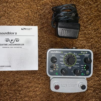 Source Audio Soundblox 2 OFD Guitar microModeler Pedal Silver for sale