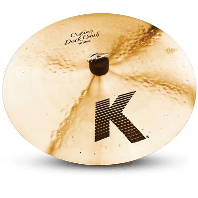 "Zildjian 16"" K Custom Dark Crash Cymbal"