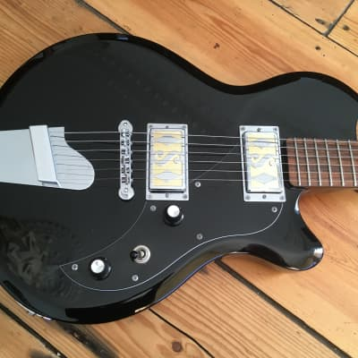 Supro Westbury Electric Guitar Indonesia 2017 Black for sale
