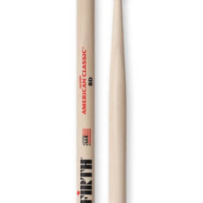 Vic Firth American Classic 8D Wood Tip Drum Sticks 1-Pair 8D