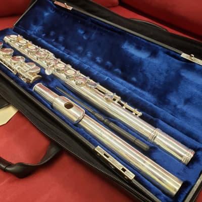 Gemeinhardt 3SB Open Hole Flute  Silver