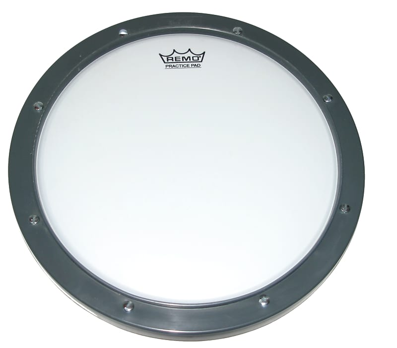 remo practice pad tunable ambassador coated drum head reverb. Black Bedroom Furniture Sets. Home Design Ideas