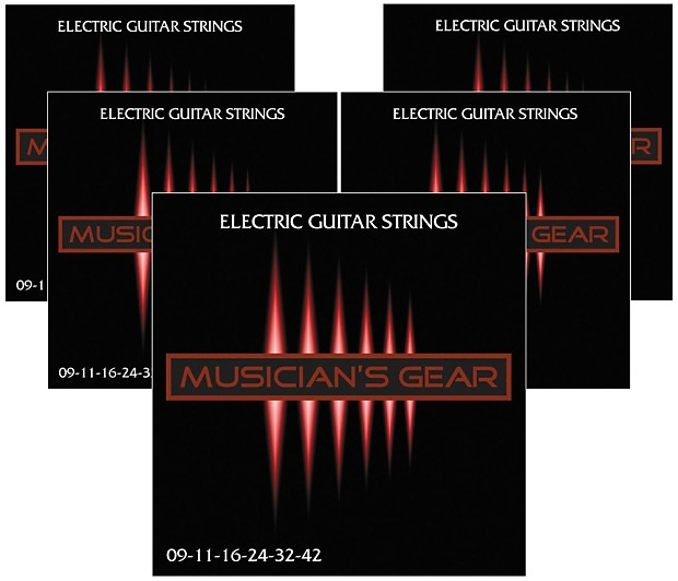 Musician S Gear Electric Nickel Plated Steel Guitar Reverb