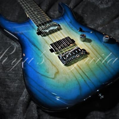 T's Guitars DST24 Custom 2019 Trans Blue Burst for sale
