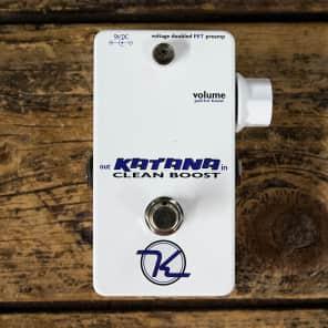 Keeley Katana Clean Boost Pedal