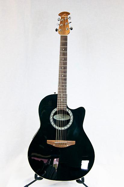 ovation standard balladeer 1861 ax acoustic electric guitar reverb. Black Bedroom Furniture Sets. Home Design Ideas