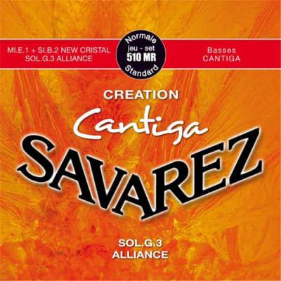 Savarez Creation Cantiga 510 Mr Tensione Normale. Set