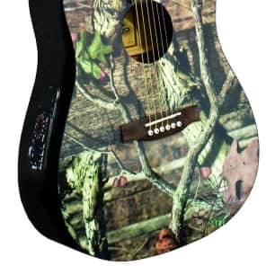 INDIANA Graphic Top MO-1CE Acoustic-Electric Guitar - Mossy Oak Infinity Camouflage for sale