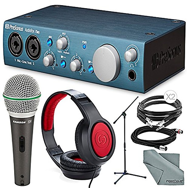 Samson Headphones PRESONUS AUDIOBOX USB 96 2x2 Audio 2.0 Recording Interface