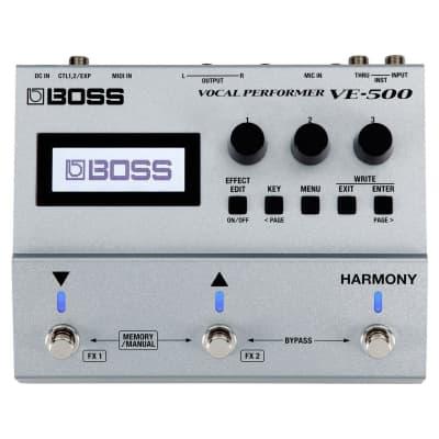 Boss VE-500 Vocal Performer 2018