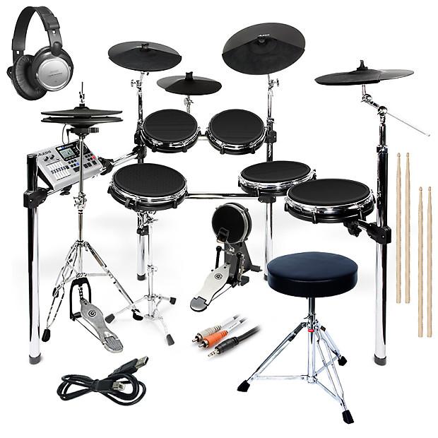 alesis dm10 x mesh kit complete drum bundle reverb