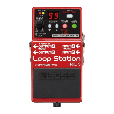 Boss RC-3 RC3 Loop Station Pedal for sale