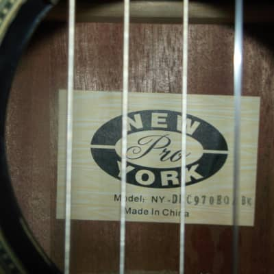 New York Pro Classical Acoustic/Electric 2015 Gloss Black for sale