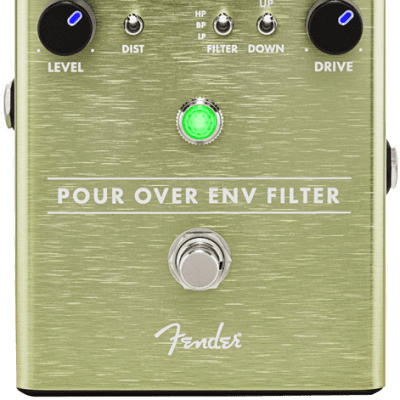 Fender Pour Over Envelope Filter Guitar Effect Pedal for sale