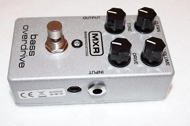 mxr m89 bass guitar overdrive stomp box effects pedal reverb. Black Bedroom Furniture Sets. Home Design Ideas