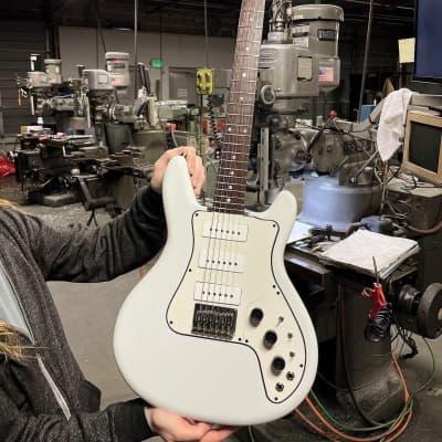 Travis Bean TB500 Generation One Jerry Garcia OBEL  2021 Polished & Vintage White preorder April 1st