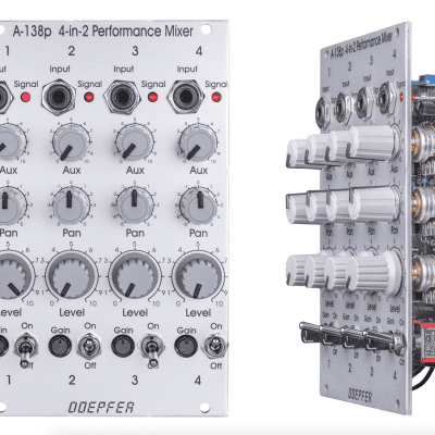 Doepfer A-138p 4-in-2 Performance Mixer Input