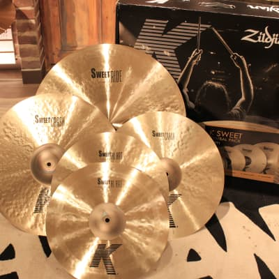 Zildjian K Sweet Cymbal Pack Box Set (KS5791) - Demo!