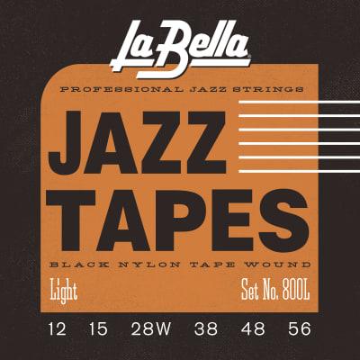 LaBella 800L Jazz Tapes – Black Nylon Light 12-56