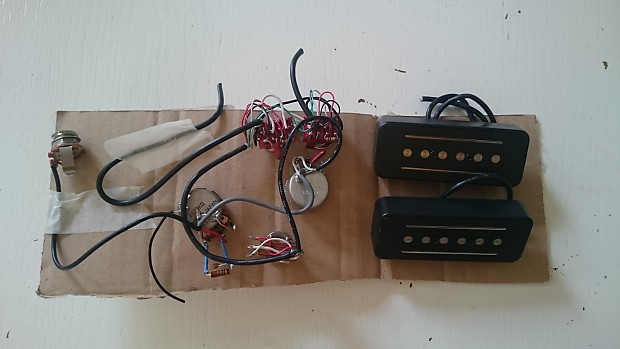Vox Coaxe Pickups  P90  And Complete Wiring  Ssc 55 Sdc 55