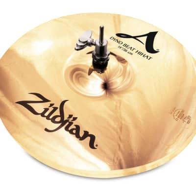 """Zildjian 14"""" A Series Dyno Beat Hi-Hat Cymbal (Single)"""