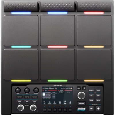 Alesis Strike Multi Pad 9-pad Sample/Loop/Perfomance player with RGB Lights, 8,000 sounds, 32GB hard drive, 10 trigger inputs, USB Audio.
