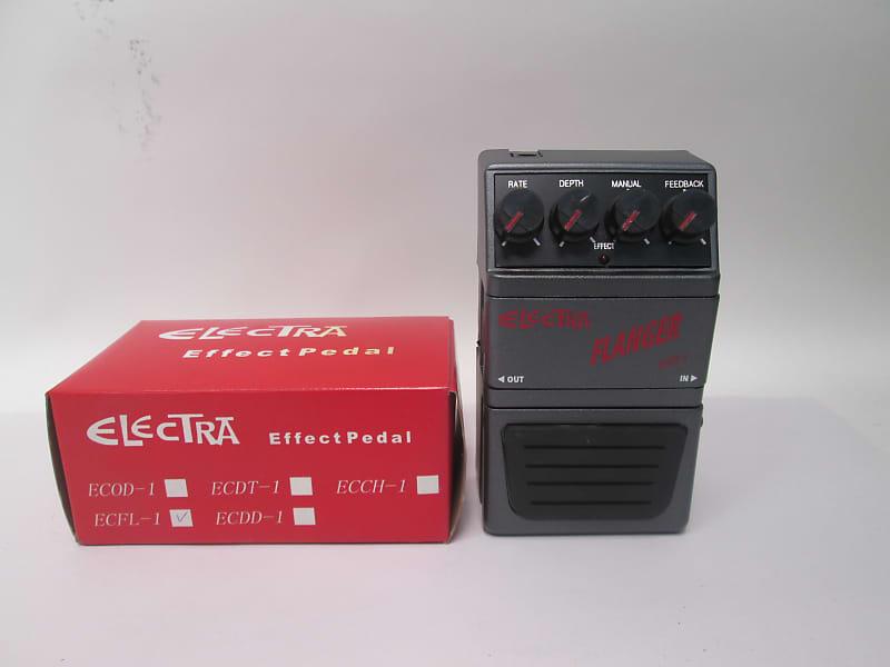 electra ecfl 1 stereo flanger guitar effect pedal reverb. Black Bedroom Furniture Sets. Home Design Ideas