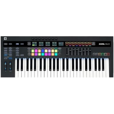 Novation 61 SL MK3 USB MIDI Keyboard Controller, 61-Key, Warehouse Resealed