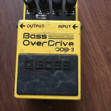Boss ODB 3 Bass Overdrive pedal Yellow
