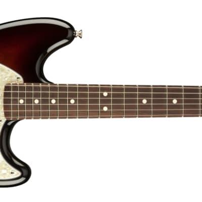 Fender American Performer Mustang Electric Guitar with Gig Bag - Sunburst - DEMO