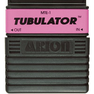 Modified Arion MTE-1 Tubulator Distortion Pedal for sale