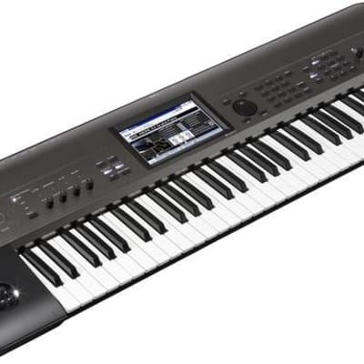 Korg KROME EX61 61 Key Workstation With Semi-Weighted Keys and PCM