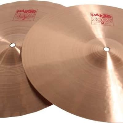 "Paiste 15"" 2002 Series Sound Edge Hi-Hat Cymbal Pair with Medium Sustain (1063115)"