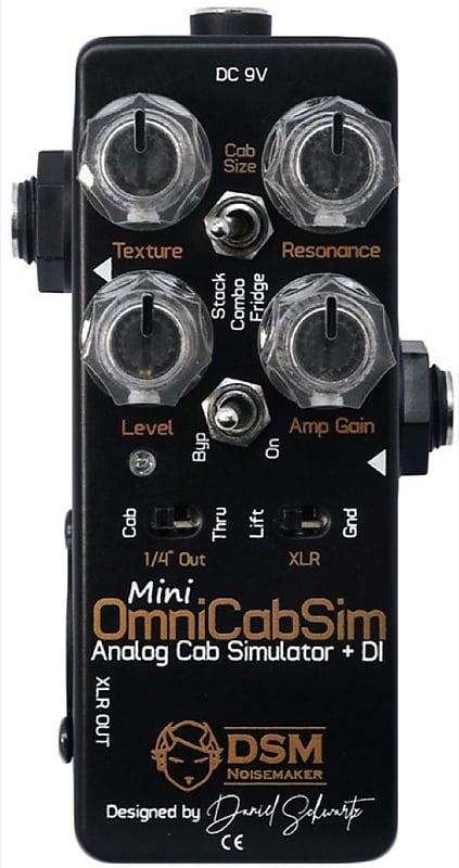 dsm noisemaker mini omnicab simulator guitar amp cabinet reverb. Black Bedroom Furniture Sets. Home Design Ideas