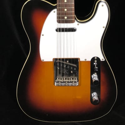 Fender Telecaster Custom '62 Reissue MIJ Sunburst 1985 for sale