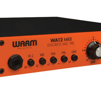 Warm Audio Discrete Microphone Preamp - WA12 MKII