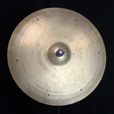 """A. Zildjian 20"""" Small Stamp Ride Cymbal 1957 - 1960"""