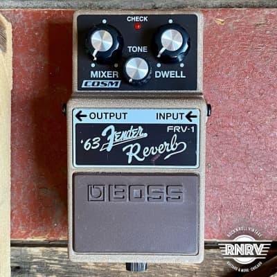 Boss FRV-1 Fender Reverb for sale